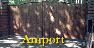 Wooden Gates Hampshire - The Amport