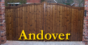 Wooden Gates Hampshire - The Andover