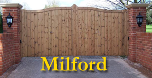 Hampshire Gates Milford Wooden Gate